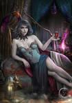Vampire Thessalia COMMISSION