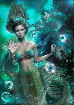 Meredith Mermaid COMMISSION