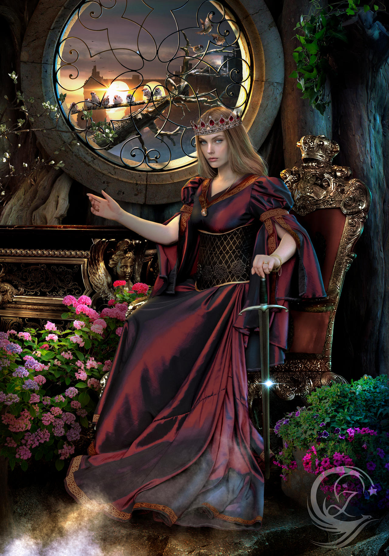 The Red Queen Lycia of Eternal