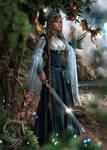 Princess Warrior Tenya against Dragons