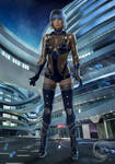 Cyborg Nova of Future 2050 by Mlauviah