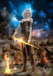 Warrior Merewina of Sword Fire