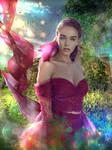 Jeanie Crystal Fairy by Mlauviah