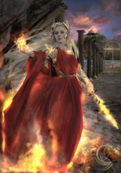 Niona, Goddess Of Fire