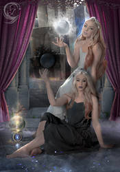 Twins Lucis (Light) and Lumbrus (Dark)