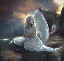 Fallen Angel Dahlia