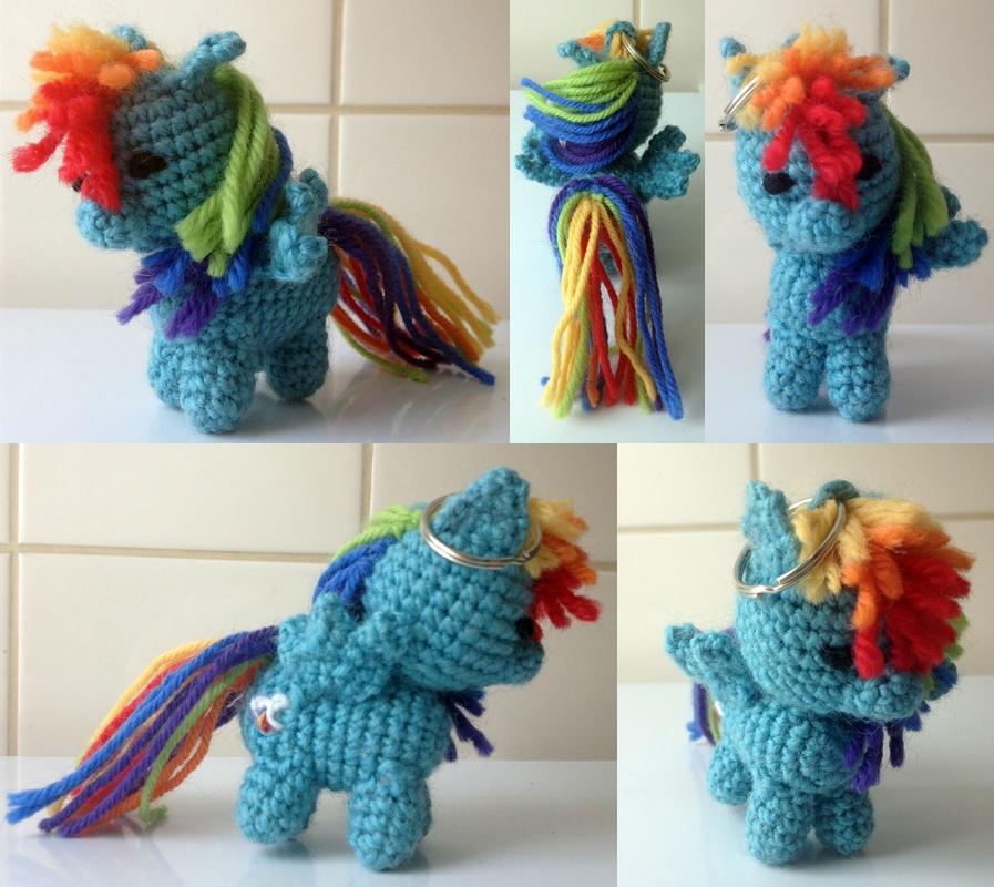 Rainbow Dash amigurumi by kuvitelma