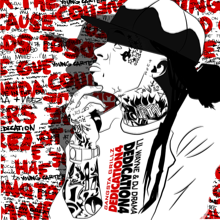 Lil Wayne Dedication 4 Unofficial Cover by Ramzone-GvS on ...
