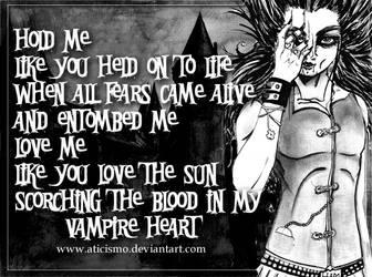 Vampire love adict by LOVE-HIM