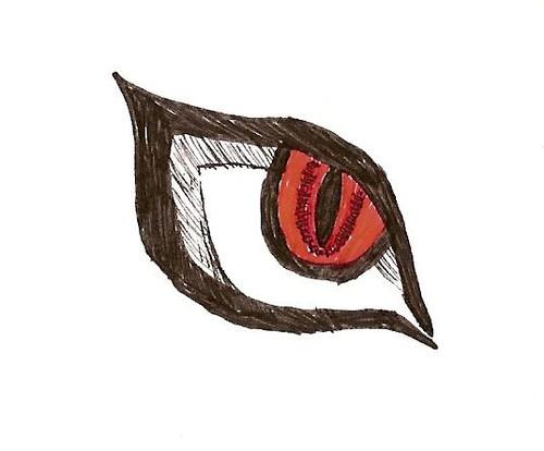 Naruto Kyuubi Eye By Anime Fan Amon