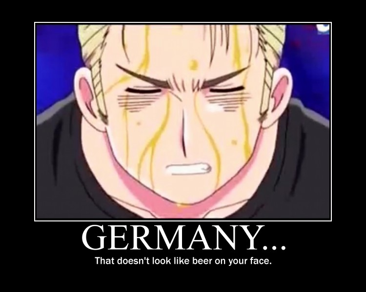 Germany hetalia motivational by fish and chips yum