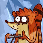Rigby Is CHEATING