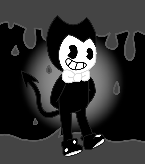 Bendy with background by Defoko22