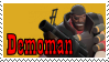 TF2 Stamp - Demoman by ririnyan
