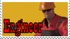 TF2 Stamp - Engineer by ririnyan