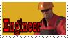 TF2 Stamp - Engineer by ririnyan