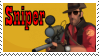 TF2 Stamp - Sniper by ririnyan