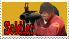 TF2 Stamp - Soldier by ririnyan