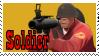 TF2 Stamp - Soldier by ririnyan