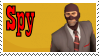 TF2 Stamp - Spy by ririnyan