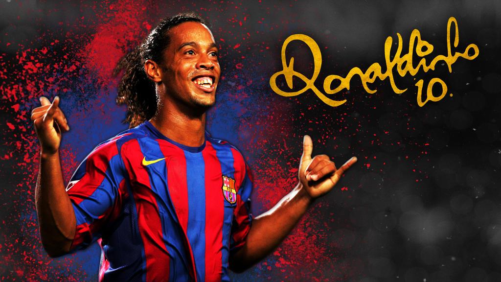 Ronaldinho wallpaper 2016 by mitchellcook on deviantart - Ronaldinho wallpaper ...