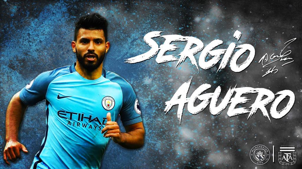 Sergio Aguero Man City Argentina 16/17 Wallpaper By