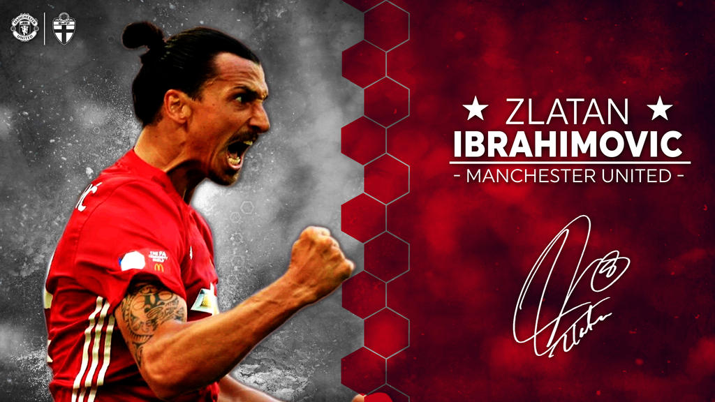Image result for ibrahimovic 2016 man utd