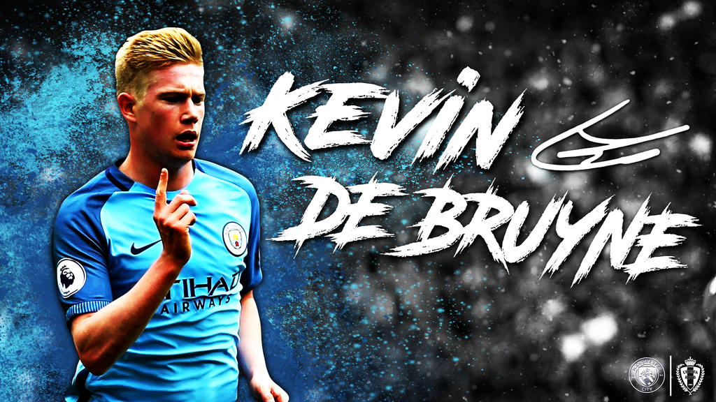 Kevin De Bruyne Manchester City Wallpaper 2016/17 By