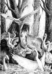 Swan Lake by weremoon