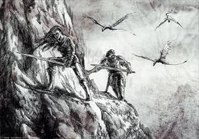 Dragon hunters by weremoon