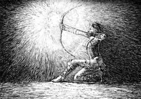 archer by weremoon