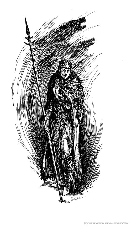 spirit shaman by weremoon