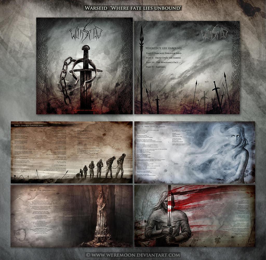 Warseid cd artwork by weremoon
