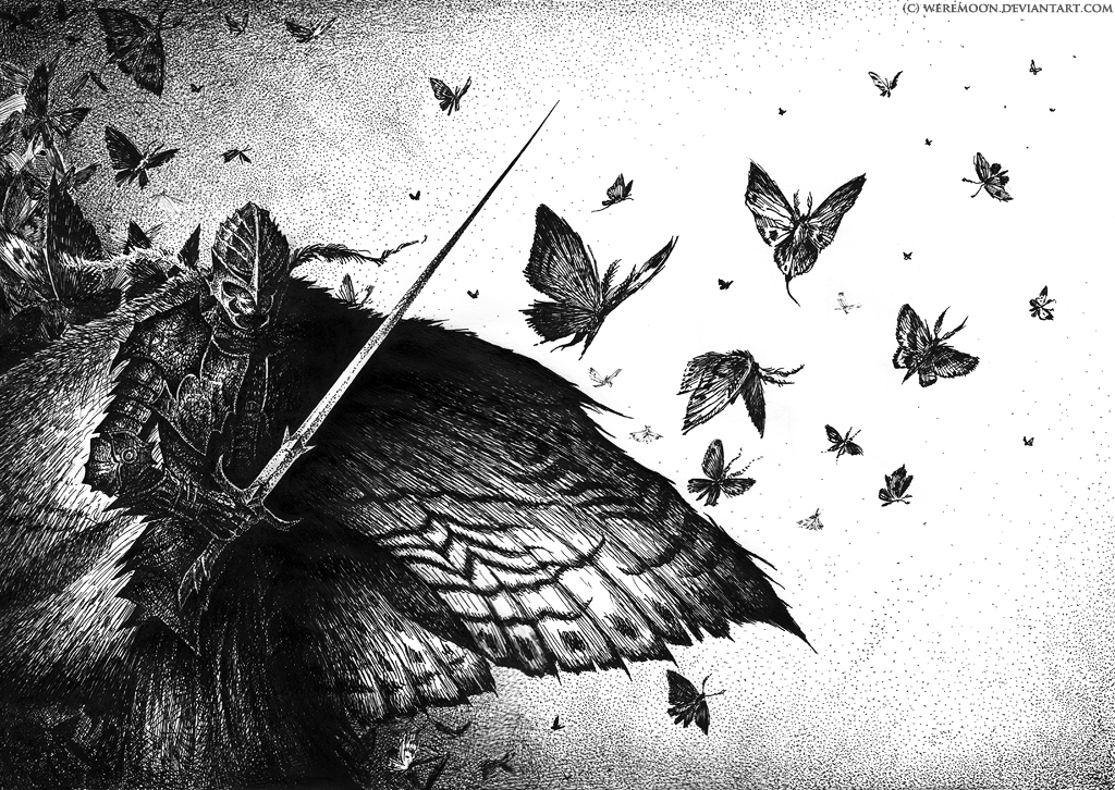 Moths by weremoon