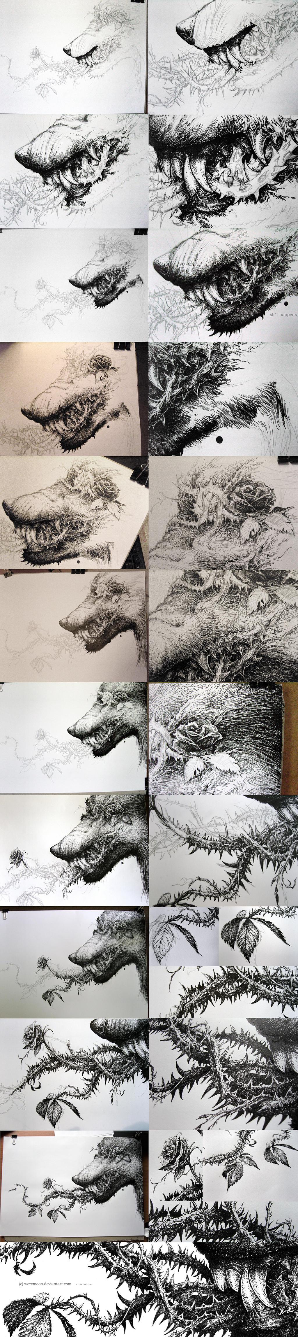 Insideout - Progress Shots by weremoon