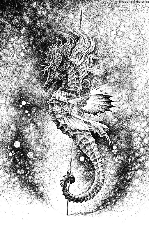 sea..knight by weremoon
