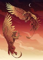 Flight by weremoon