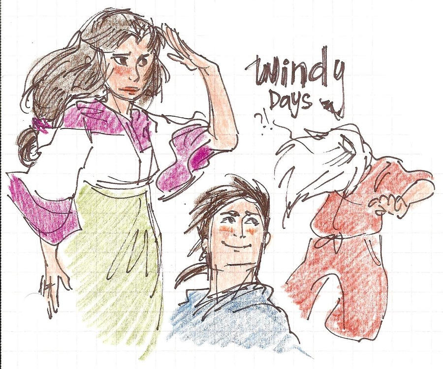 Windy Days by lila-me