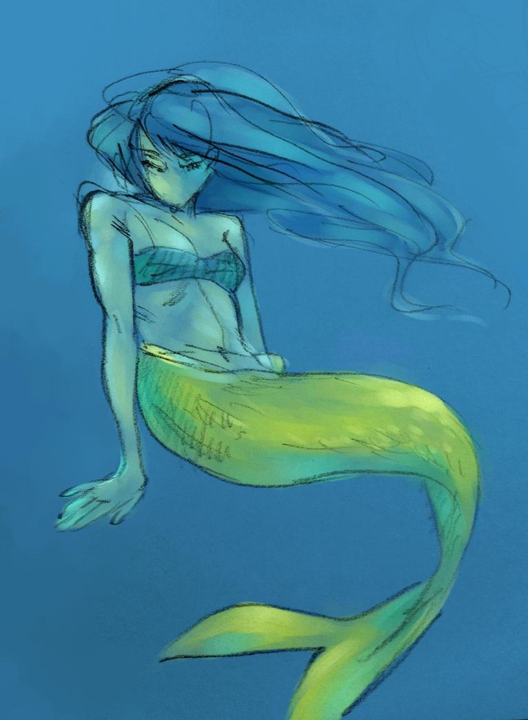 Mermaid by lila-me