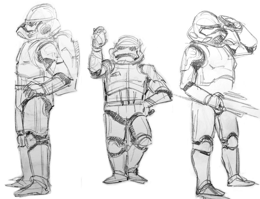 Stormtroopers are fun to draw 2 by lila-me