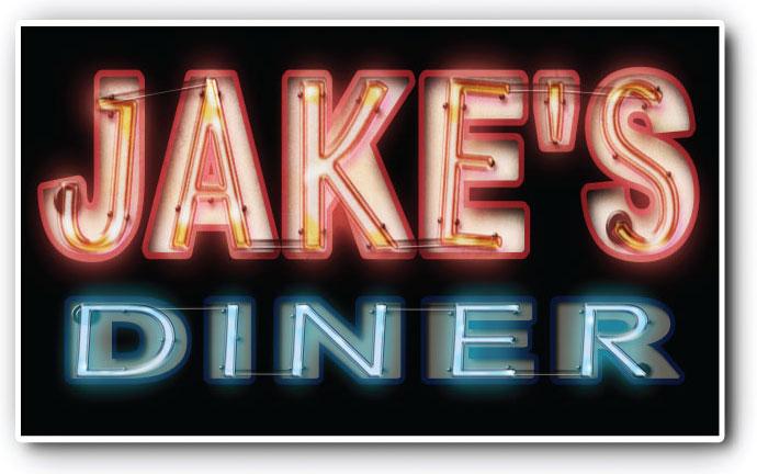 Jake's Diner Neon - 3ftdeep by 3ftDeep