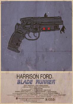 Blade Runner Alternative, Minimalist Poster