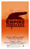 The Empire Strikes Back - Minimalist Poster by 3ftDeep