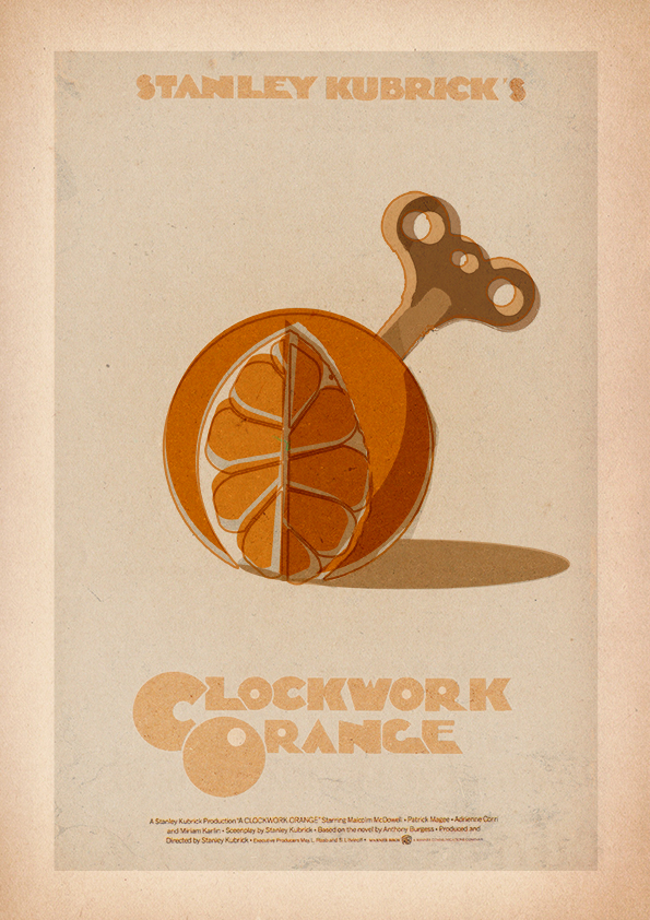 A Clockwork Orange - Minimalist Poster by 3ftDeep on ... A Clockwork Orange Minimalist Poster
