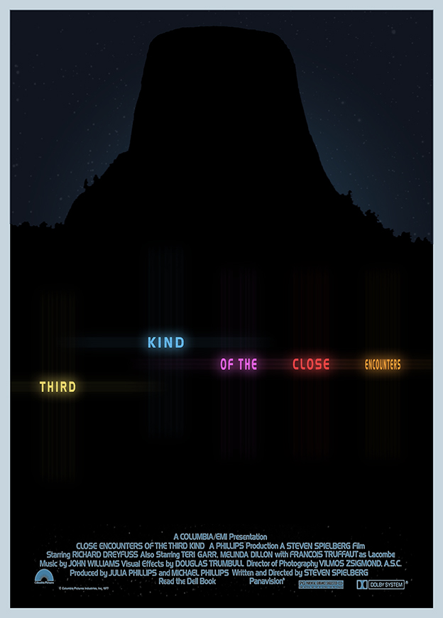 Close Encounters of the Third Kind - Alt Poster