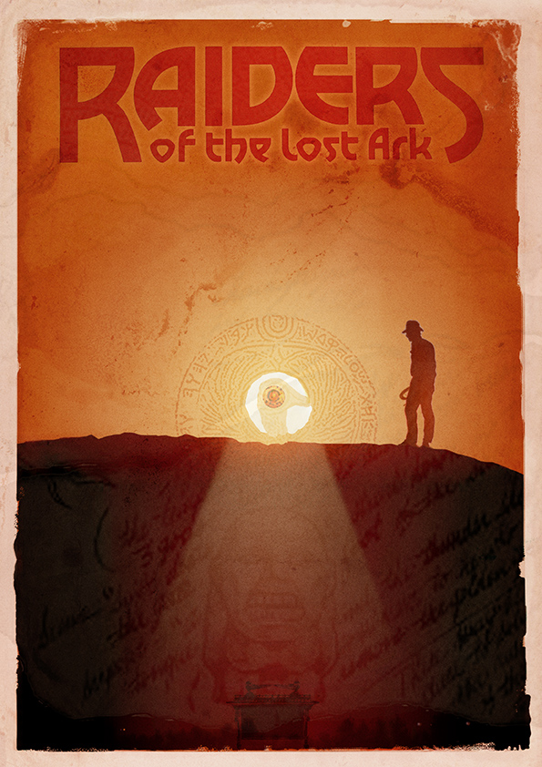 Raiders of the Lost Ark - Alternative Movie Poster by 3ftDeep