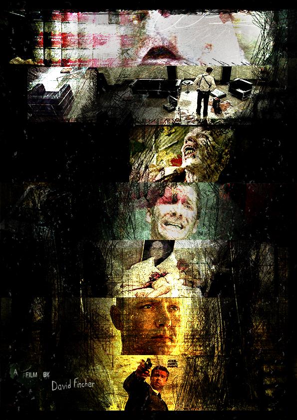 se7en alternative movie poster by 3ftdeep on deviantart
