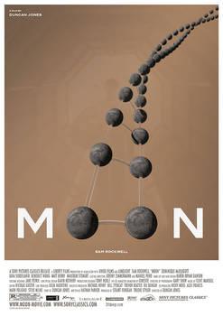 Moon - Alternative Movie Poster by 3ftDeep