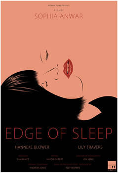 Edge of Sleep movie poster by 3ftDeep