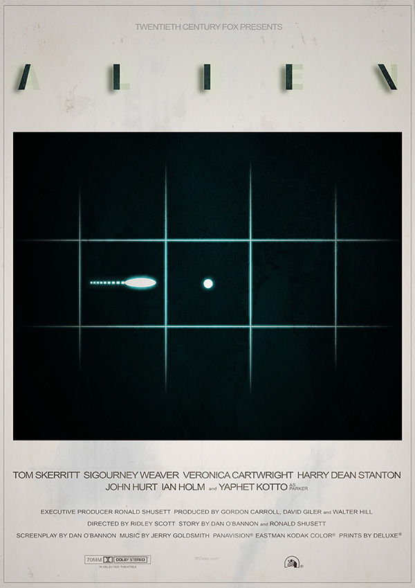 Alien day 2016 - LV426 Alternative movie poster by 3ftDeep